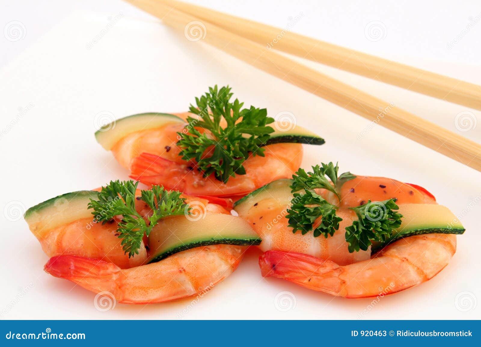 Broiled prawns asian mens health
