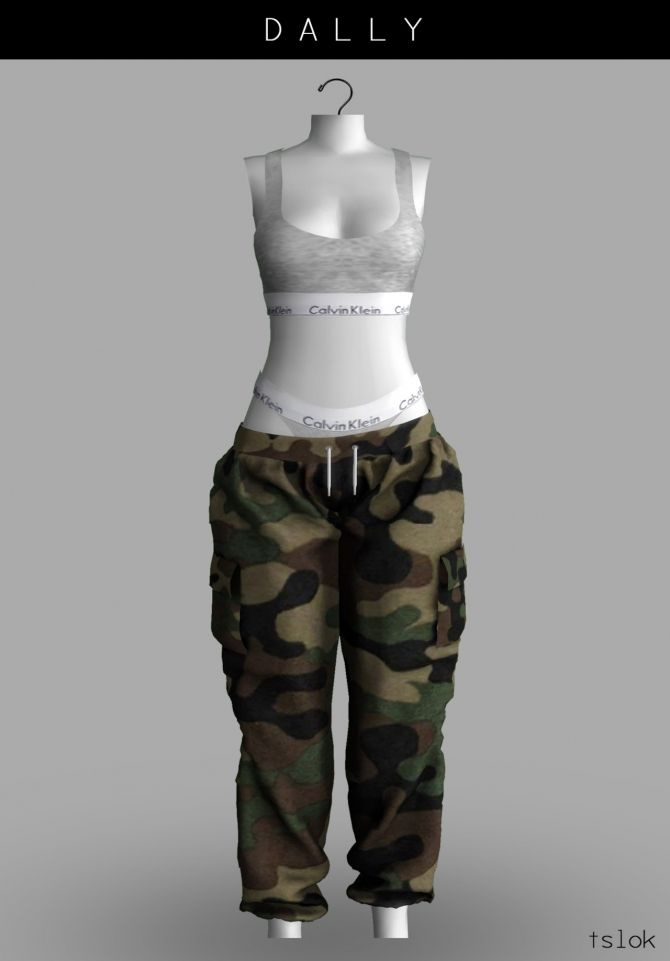 anime clothes 4 Sims
