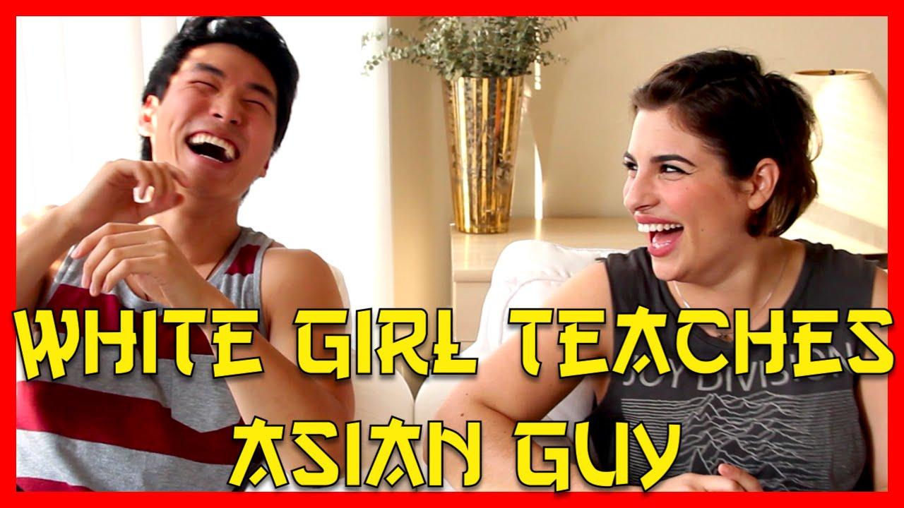 white guy Asian girl like that