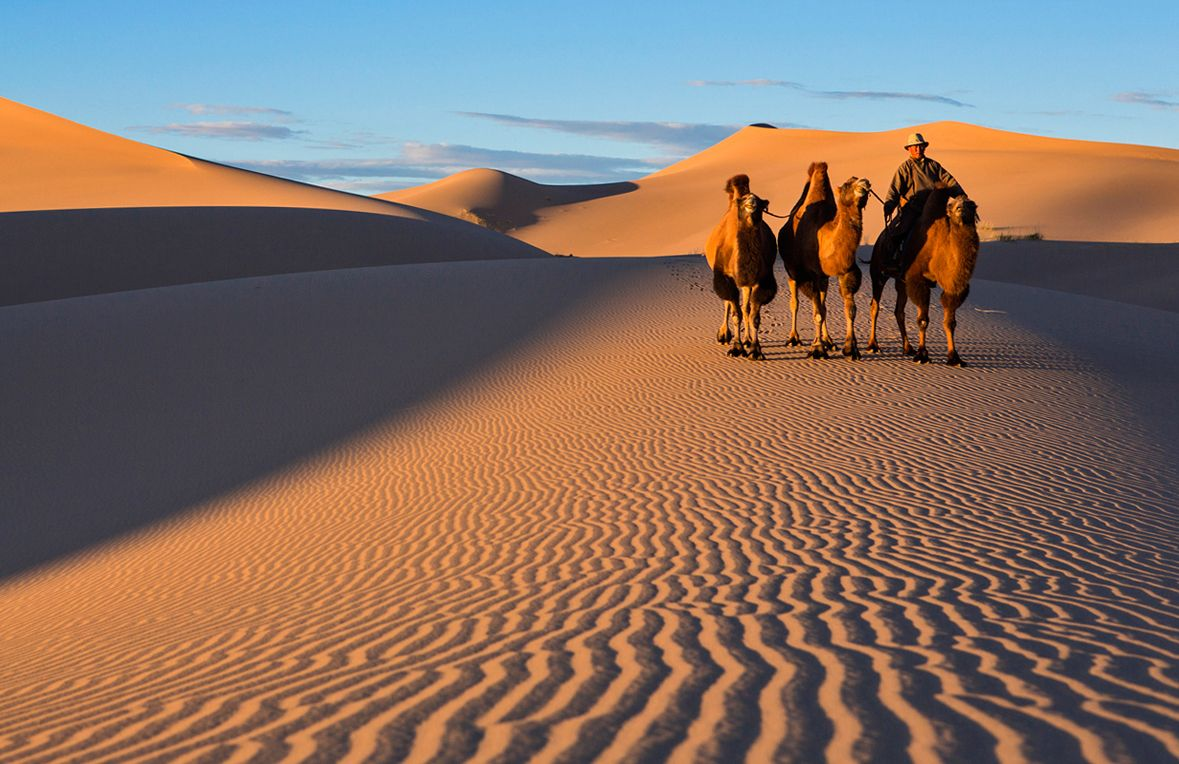 the asian desert is What largest