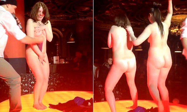 Chinese stripper video