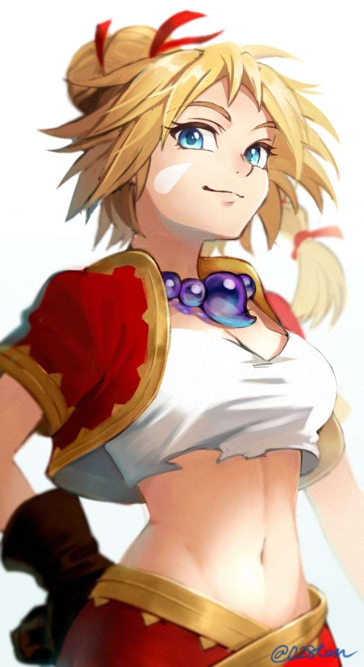 Chrono cross hentai art
