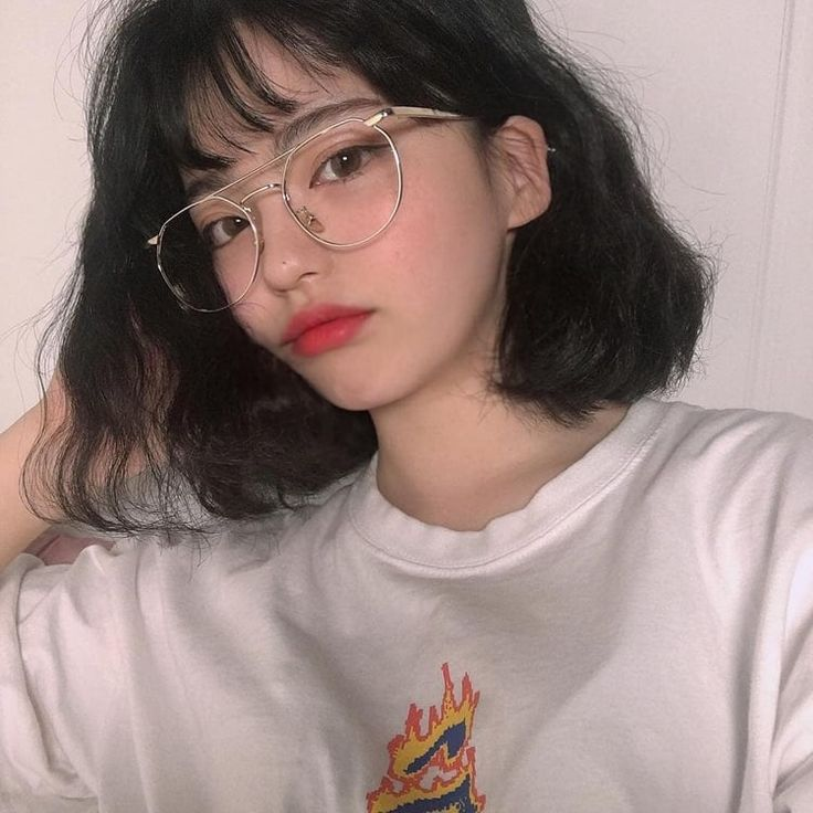 messy shared asian Curly