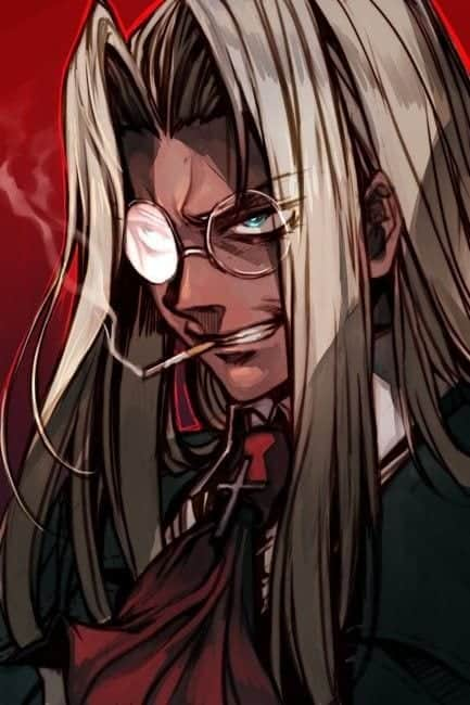 girl glasses anime Cute