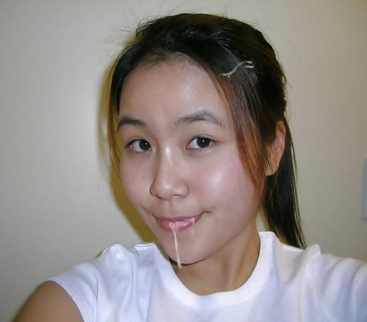 cum otngagged Asian young