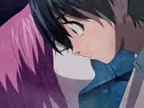 lots kissing with Anime of