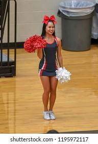 Asian POV cheerleaders uniform