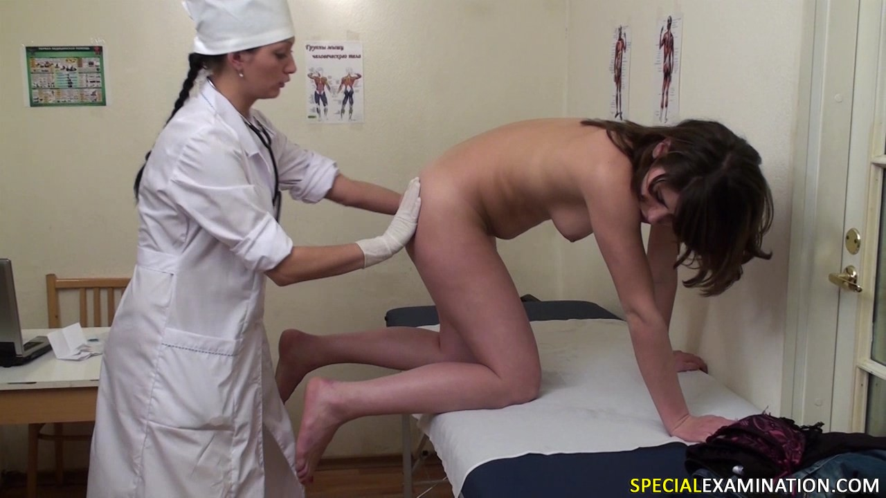 anal girl painful exam torture Japan hospital