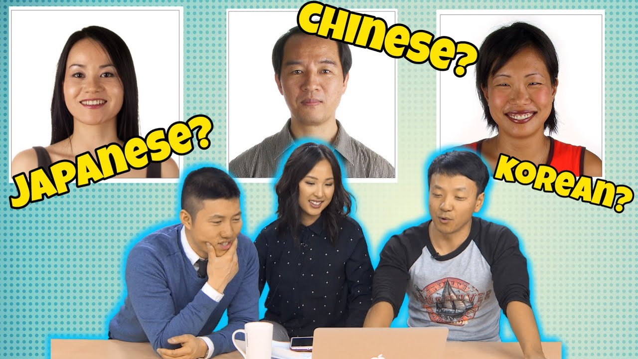 korean Japanese and chinese and