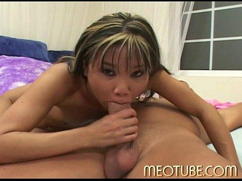 wet Asian otngagged cumshot