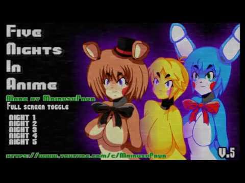 1 at anime Five nights