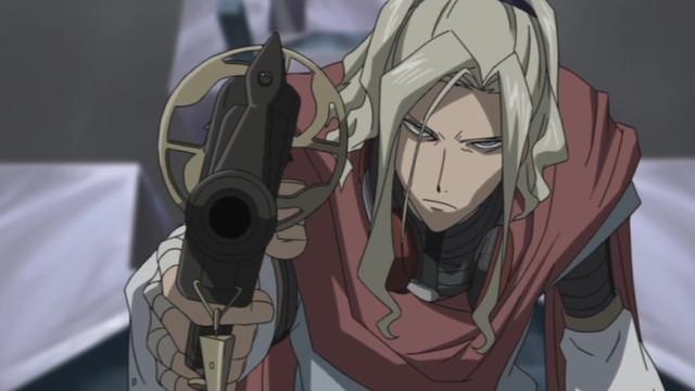 x sword anime Gun