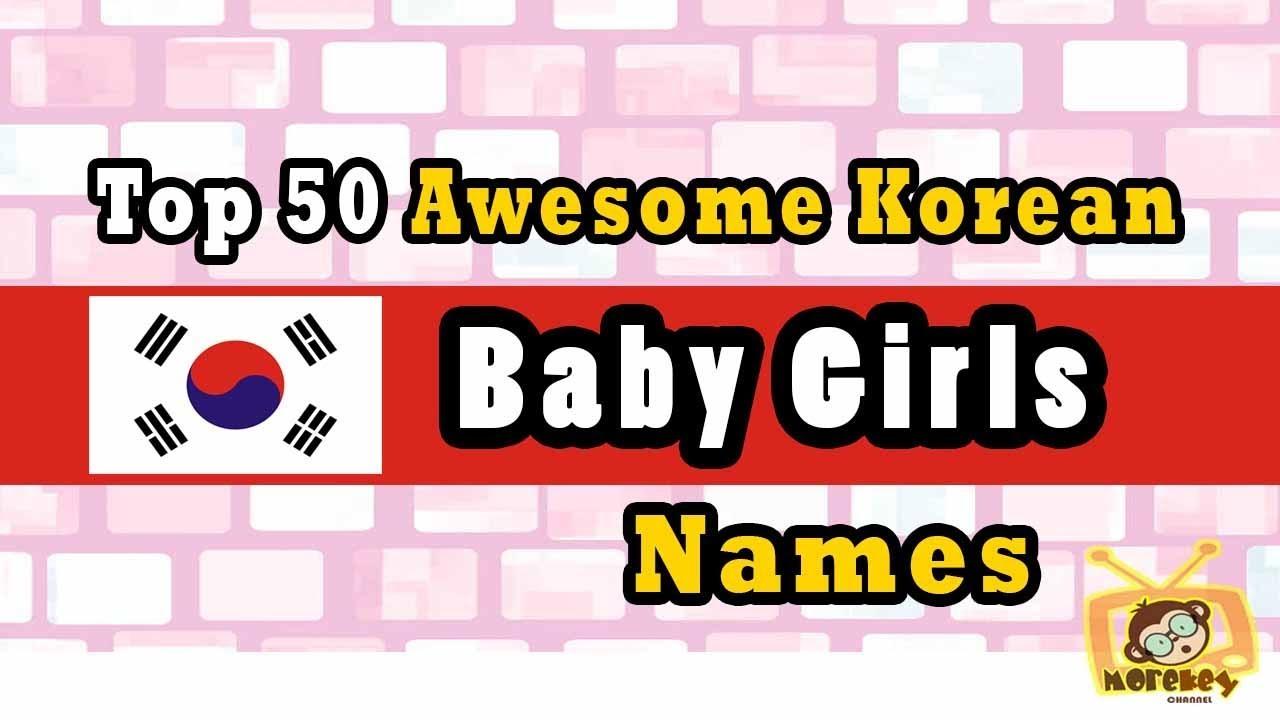 nicknames girl Korean for