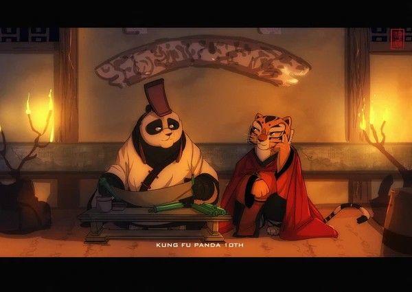 hentai panda furry Kung fu