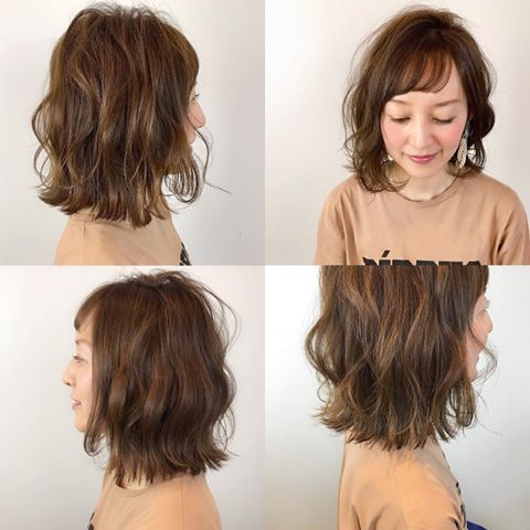 asian shared Messy curly