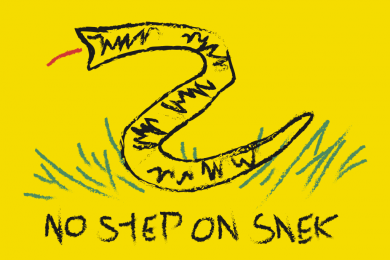 on No snek anime step