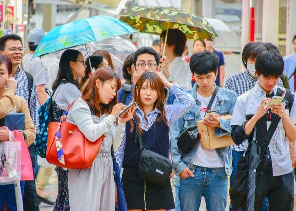 japan People to people