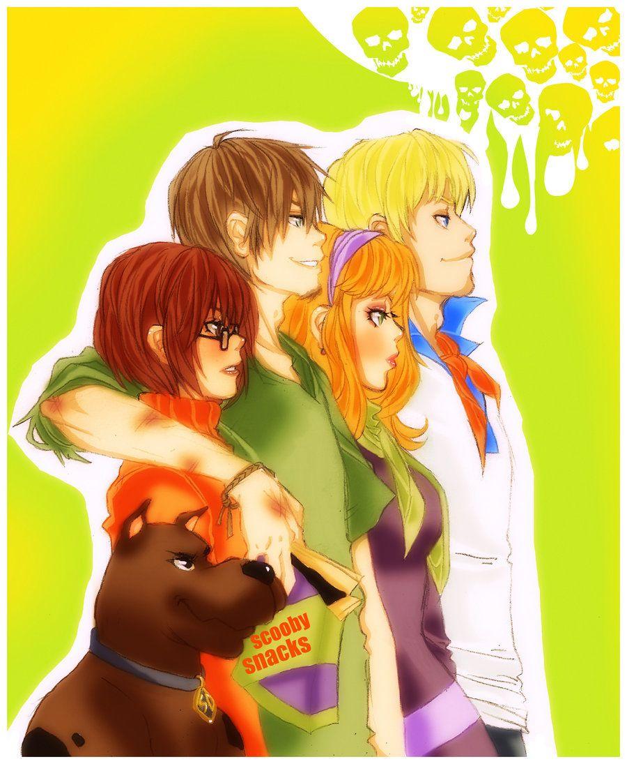version anime Scooby doo