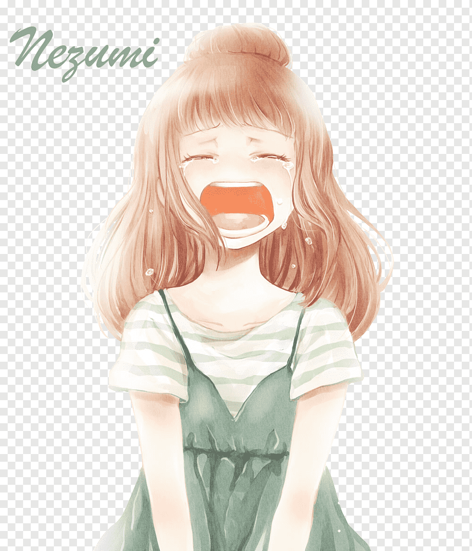 face Screaming anime