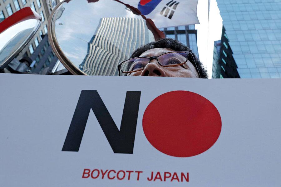 japan South korea on