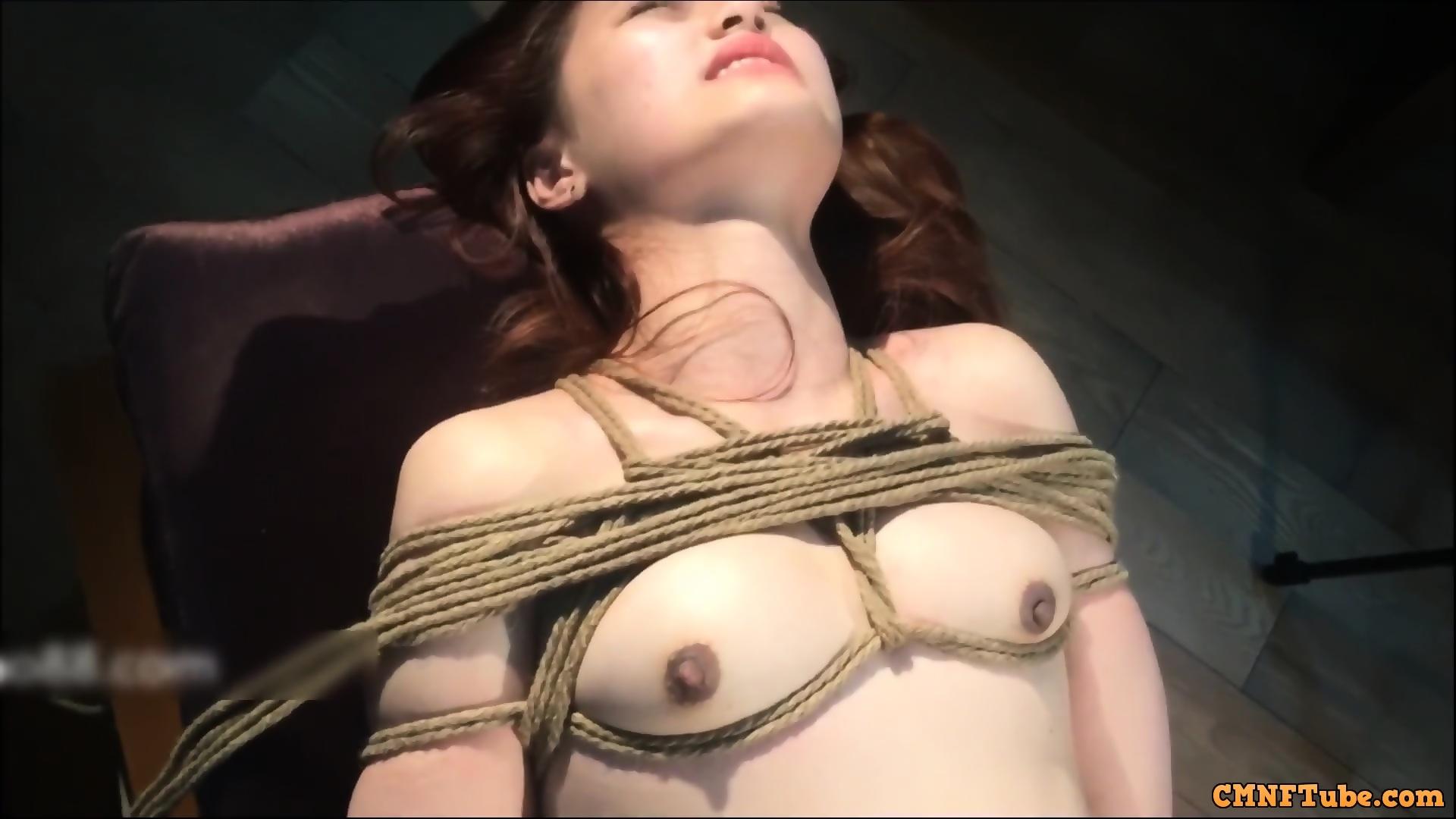 bondage outdoor asian Virgin