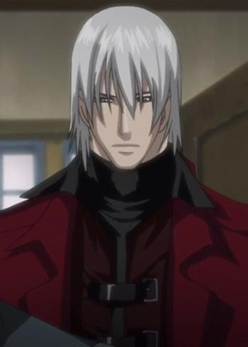 anime White guys hair
